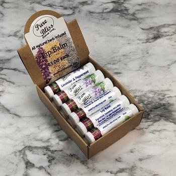 Lavender & Peppermint Lip Balm