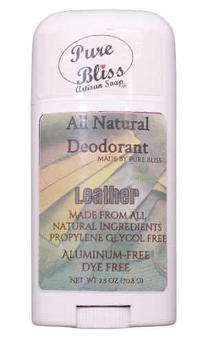 Leather All Natural Deodorant